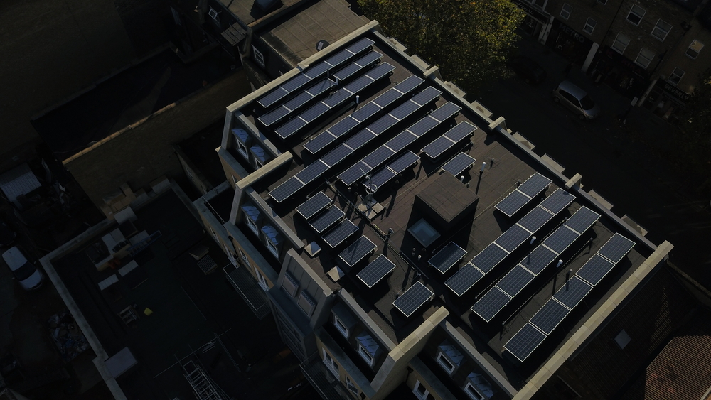 Cleanspark Creates Entirely Renewable Energy Microgrid For