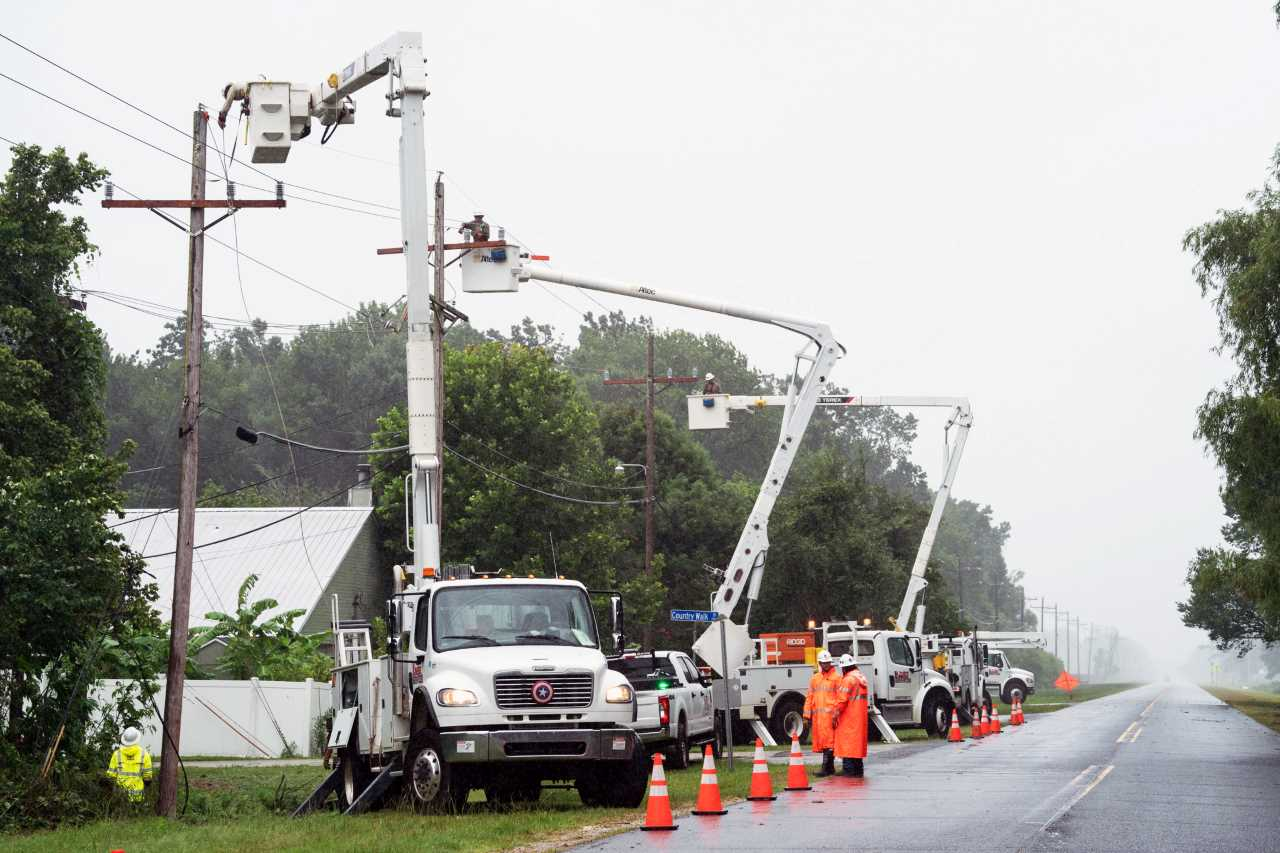 Entergy Louisiana crews restore power to most areas after